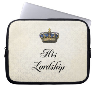 His Lordship Computer Sleeve