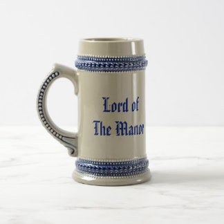 His Lordship Lord of the Manor Beer Medieval Stein 18 Oz Beer Stein
