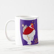 His Majesty King Fluffy Pants Coffee Mug