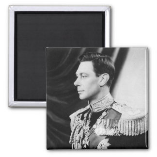 His Majesty King George VI Magnet