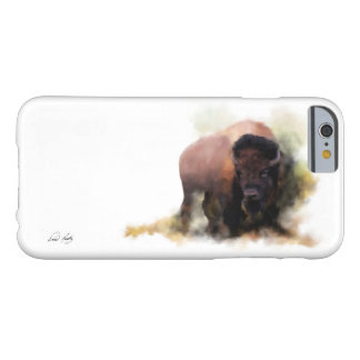 'His Majesty' Painted Buffalo iPhone Case