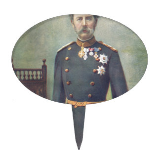 His Majesty The King Of Denmark Cake Topper