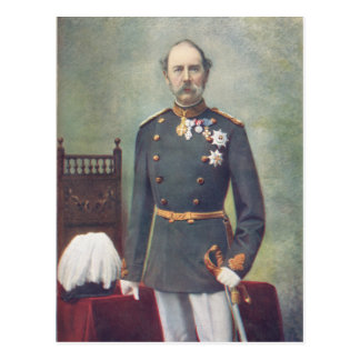 His Majesty The King Of Denmark Postcard