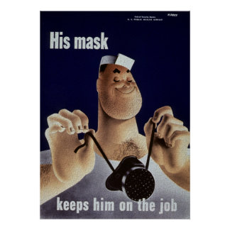 His Mask Poster