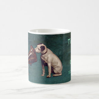 His Master's Voice Father's Day Classic White Coffee Mug