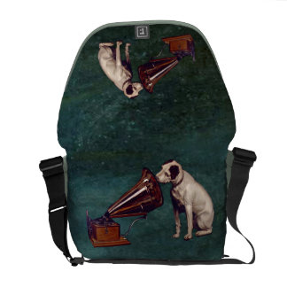 His Master's Voice Father's Day Messenger Bag