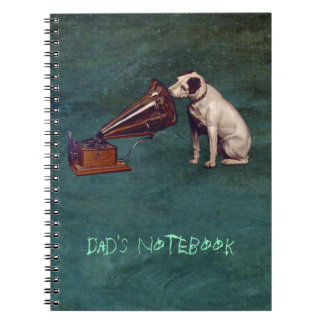 His Master's Voice Father's Day Notebook