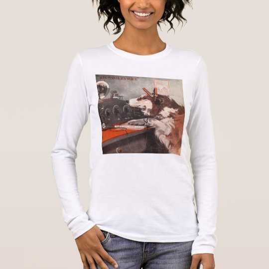 His Master's Voice Long Sleeve T-Shirt