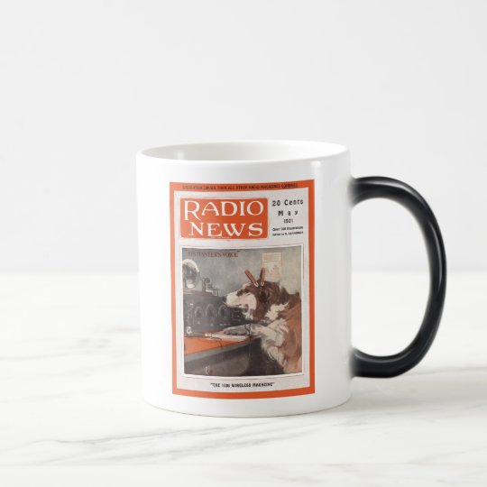 His Master's Voice Magic Mug