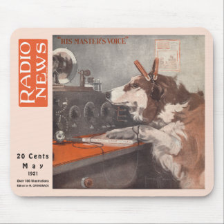 His Master's Voice Mouse Pad