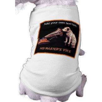 His Masters Voice - Vintage Dog Art Shirt