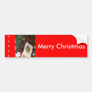 His Name Is Jesus Christmas products Bumper Sticker