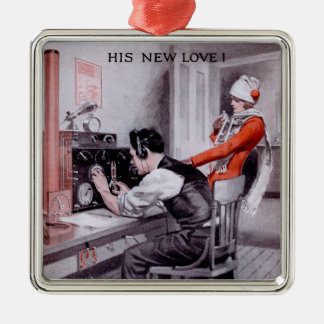 His New Love! Christmas Ornaments