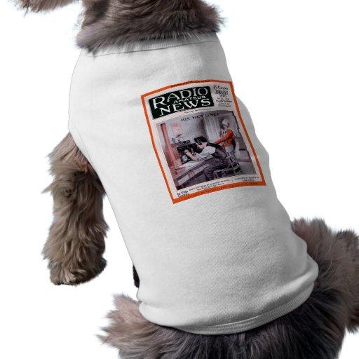 His New Love! Dog T-shirt