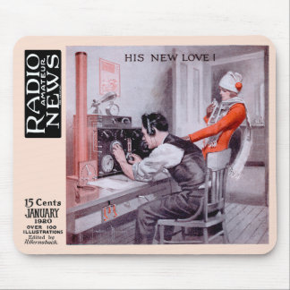 """""""His New Love"""" Mouse Pad"""