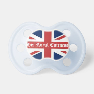 His Royal Cuteness Pacifier