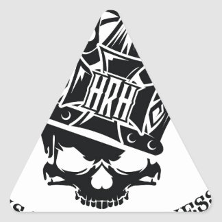 His Royal Highness Logo Triangle Sticker