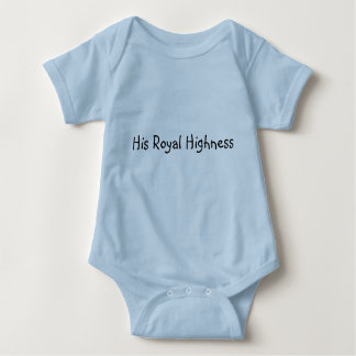 His Royal Highness T Shirt