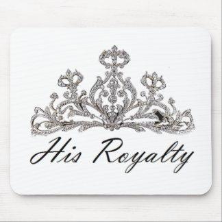 His Royalty Mousepad