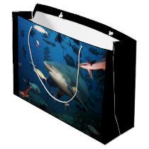 his shark gift bag