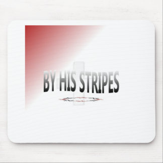 His Stripes-001 Mouse Pad
