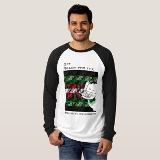 His Ugly Sweater Alien Holiday Weirdness Shirt