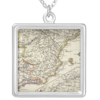 Hispania 2 silver plated necklace