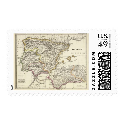 Hispania 2 stamp