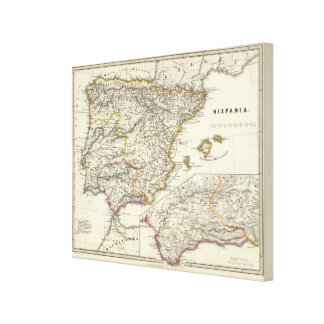Hispania Canvas Print