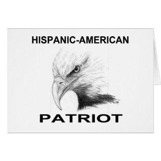 Hispanic-American Patriot Card