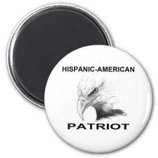 Hispanic-American Patriot Magnet