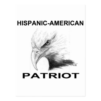 Hispanic-American Patriot Postcard