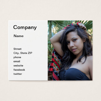 Hispanic Beauty Business Card