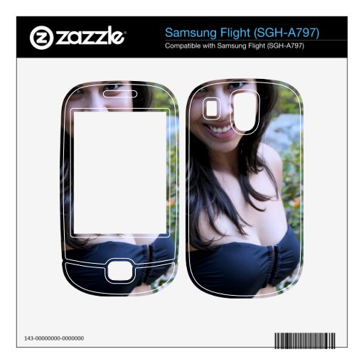 Hispanic Beauty Samsung Flight Skins