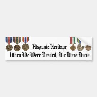 Hispanic Heritage Month Bumper Sticker