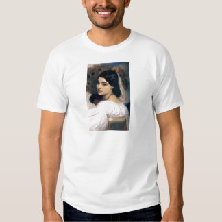 Hispanic lady woman antique painting t shirt