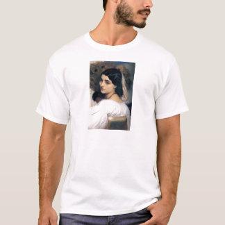 Hispanic lady woman antique painting T-Shirt