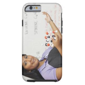 Hispanic teenaged girl in science class tough iPhone 6 case