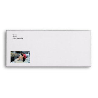 Hispanic Woman Creek Envelope