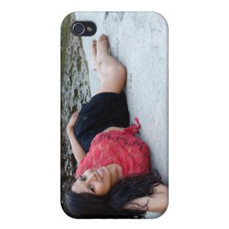 Hispanic Woman Creek iPhone 4 Cases