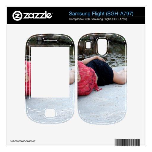 Hispanic Woman Creek Skin For Samsung Flight
