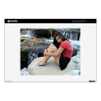 "Hispanic Woman Creek 12"" Laptop Decal"