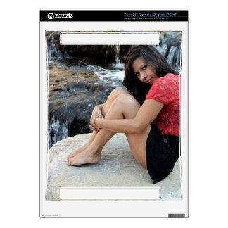 Hispanic Woman Creek Xbox 360 Decal
