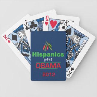 HISPANICO de Obama Barajas De Cartas