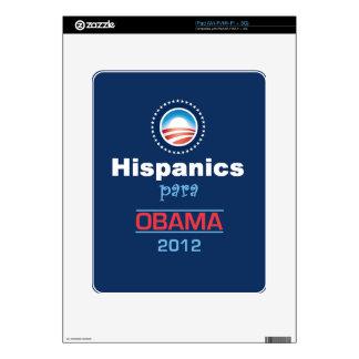 HISPANICO de Obama Calcomanía Para iPad