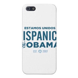 Hispanico para Obama iPhone 5 Carcasas