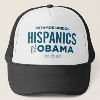 Hispanics for Obama Trucker Hat