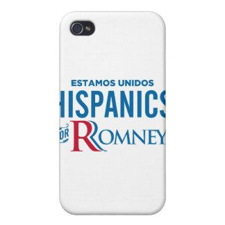 Hispanics for Romney iPhone 4 Covers