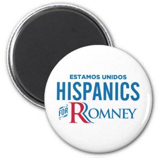 Hispanics for Romney Refrigerator Magnets