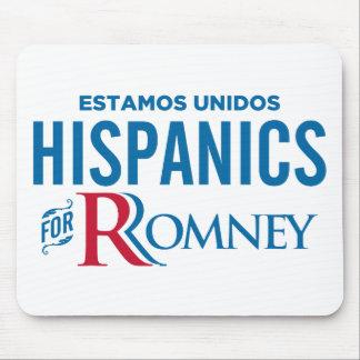 Hispanics for Romney Mousepad